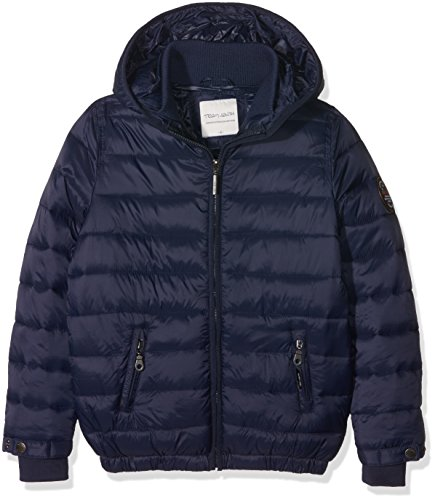 Teddy Smith Brother JR, Impermeable Bambino, Blu (Us Navy), 16 Anni