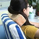 Roki Log Micro Bead Head Cushion (Pillars Pillows)