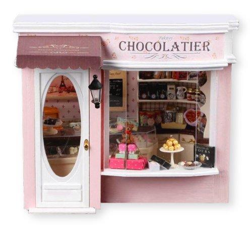 ドールハウス 手作りキットセットミニチュア 欧州旅行日記 チョコレートPT-ETJ04