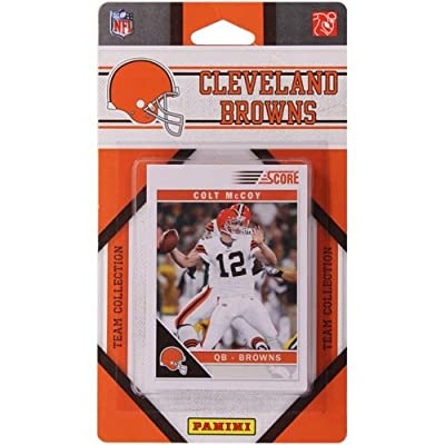 C & I Collectables 2345071768 Cleveland Browns 2011 Score Team Set