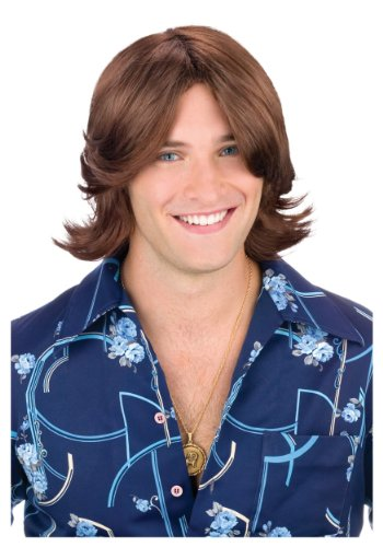 Ladies Man Wig Costume Accessory