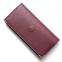 (カルティエ) Cartier 長財布[小銭入れ付き] MUST DE CARTIER/マストドゥカルティエ LEATHER ボルドー [並行輸入品]