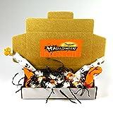 Lindt Halloween Treat Box - Ghost Sticks, Dark and Orange Lindor Truffles - By Moreton Gifts
