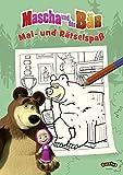 Mascha und der Baer - Mal- und Raetselspass