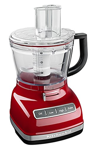 Kitchenaid Kfp1466Er 14-Cup Food Processor With Exact Slice System And Dicing Kit, Empire Red front-158378