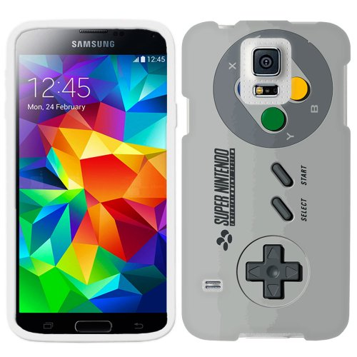 Samsung Galaxy S5 Sfc Old Video Game Controller Phone Case