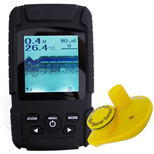 Lucky Rechargeable Wireless 40m Depth Fish Finder