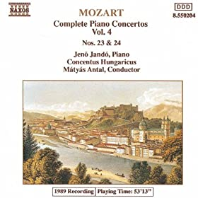 Mozart: Piano Concertos Nos. 23 And 24