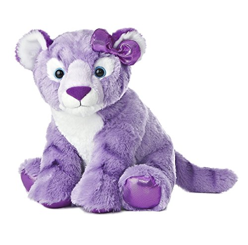 "Aurora World Girlz Nation Purple Tiger Plush, 12"""