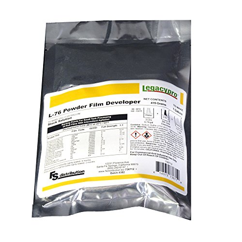 LegacyPro 736712 L-76 B&W Powder Film Developer to Make 1 Gallon, White (Developer C41 compare prices)