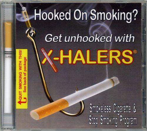 X-Halers Smokeless Cigarette (Nicotine-Free) And Cd Stop Smoking Program