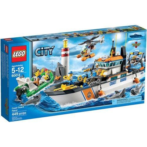 Lego City Coast Guard Patrol Play Set