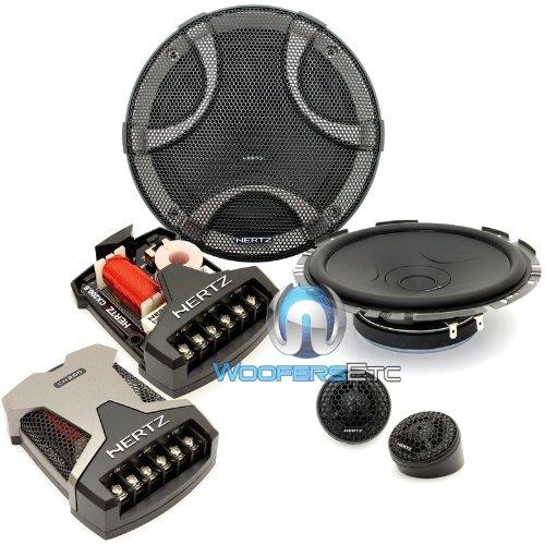 "Esk-F165.5 - Hertz 6.5"" 270W Peak 2-Way Component Speaker System"