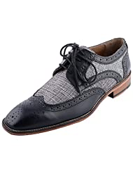 D.Desire Men's Leather Formals & Lace-Up Flats - B00Y1ELBPE