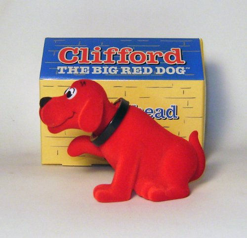 Clifford Bobblehead in Dog House
