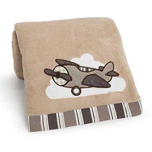 Kent Appliqued Boa Blanket