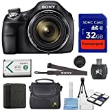 Sony-Professional-Digital-Point-Shoot-Camera-Kit-With-Sony-Cyber-Shot-DSC-H400-Original-Accessories-32GB-Memory-Pouch-Cleaning-Kit-With-Mini-Tripod-International-Version