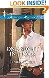 One Night in Texas (Harlequin American Romance)