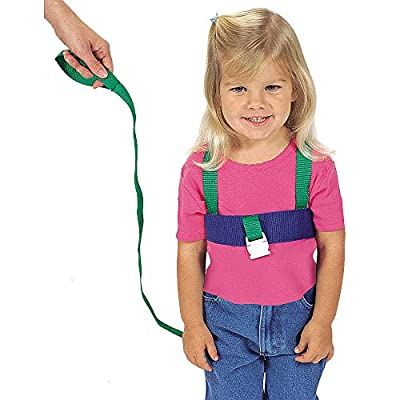 Leachco Ride 'N Stride 2-Way Safety Harness - Green/ Blue from Leachco