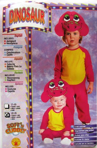 Rubies Toddlers 'Barney Dinosaur' Child Costume