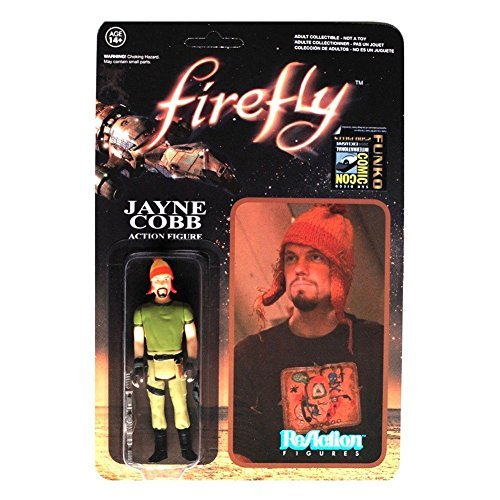 Jayne Cobb with Hat Firefly ReAction SDCC Exclusive Action Figure by Firefly