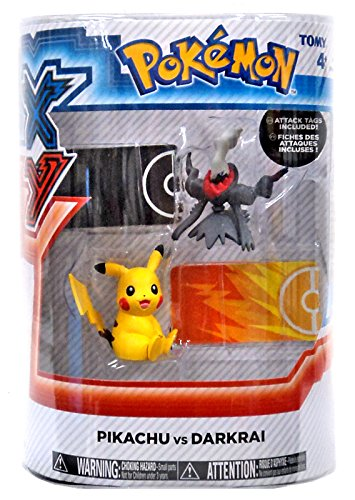 Pokemon X & Y Pikachu vs Darkrai Figure 2-Pack - 1
