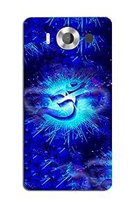 SEI HEI KI Designer Back Cover For Microsoft Lumia 950 XL - Multicolor
