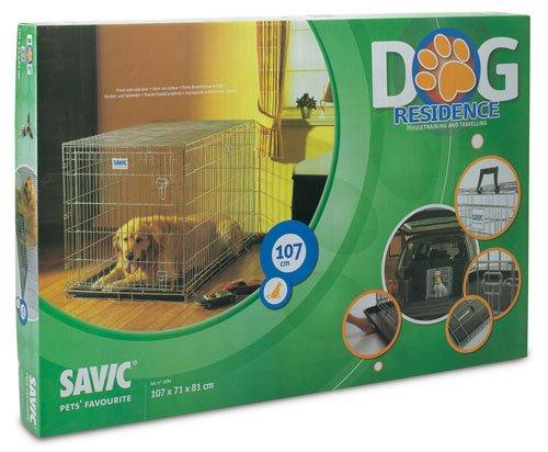 Savic Dog Résidence 107 Cm Dog Crate Zinc Plated 107 X 71 X 81 Cm