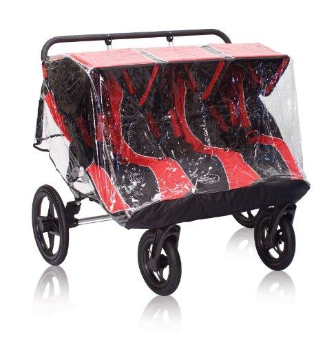 Baby Jogger Summit Triple Rain Canopy - Pvc Free front-791184