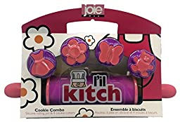 L\'il Kitch Rolling Pin and Cookie Cutter Set by MSC International