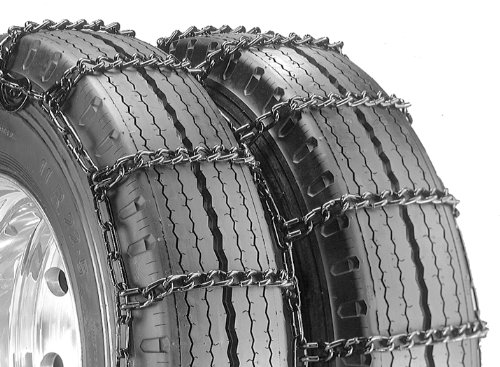 Security Chain Company QG4239CAM Quik Grip Type CAM-DT Light Truck Dual and Triple Tire Traction Chain – Pack of 1