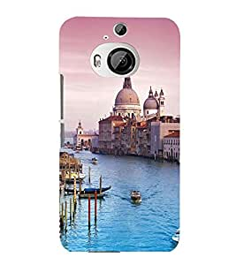 printtech Italy Sea Building Dome Back Case Cover for HTC One M9+::HTC One M9 Plus