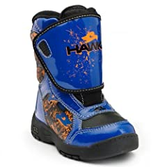 BOYS tony hawk extreme BLUE thermolite waterproof winter snow boots size 8 (CHILDRENS... by Tony Hawk