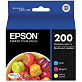 Genuine Epson (T200520) Combo Pack Includes 1 Each of (T200220, T200320, T200420)