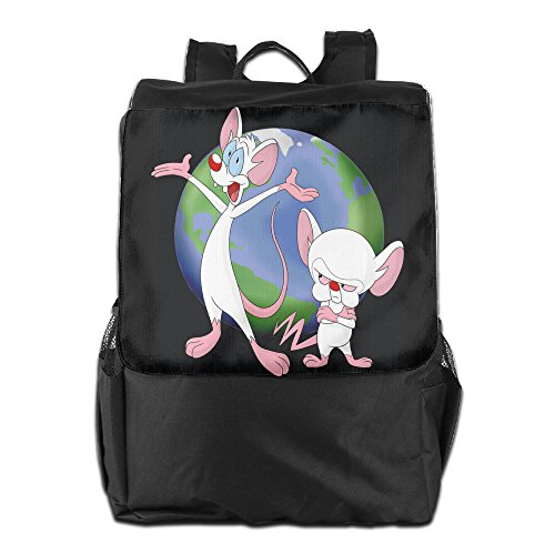 [Pinky & The Brain Animaniacs Casual College Backpack Laptop Bag School Travel Daypack] (Freakazoid Costume)