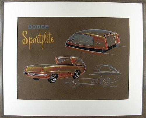 """Dodge Sportflite"" Concept Art"