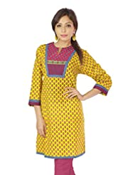 Shopping Rajasthan Exclusive Pure Cotton Handloom Handweaved Block Print Design Kurti Top