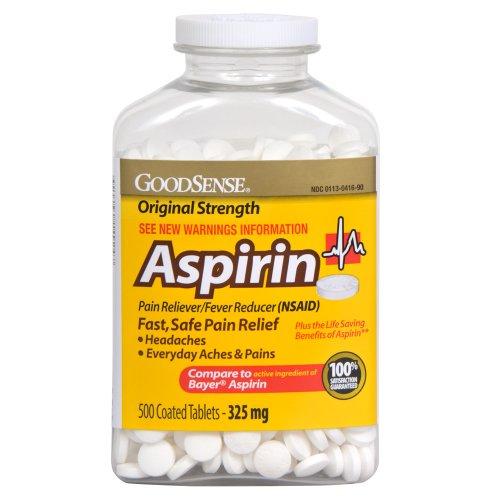 Aspirin 500 mg dosage / Pharmacist Online