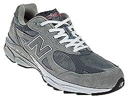 New Balance Men\'s M990GL3 Running Shoe,Grey,9.5 2E US