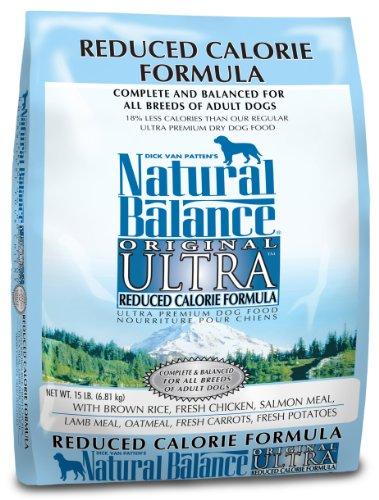 Natural Balance Original Ultra Reduced Calorie Formula Food, 15-Pound Bag