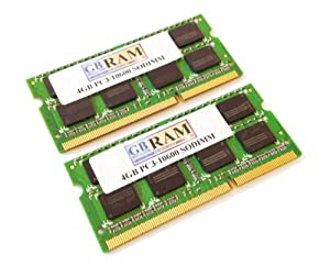 8GB DDR3 Memory RAM Kit (2 x 4GB)for Sony VAIO VPCEC25FX/BI