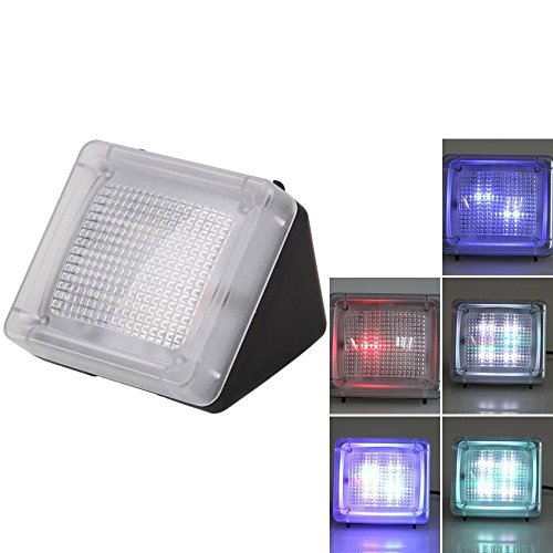 AGPTek® LED TV Simulator, Fernseh Attrappe-Fake, Einbruchschutz, Home Security, Lichtsensor und Timer, 3 Programme wählbar, 20 farbige LEDs - 3