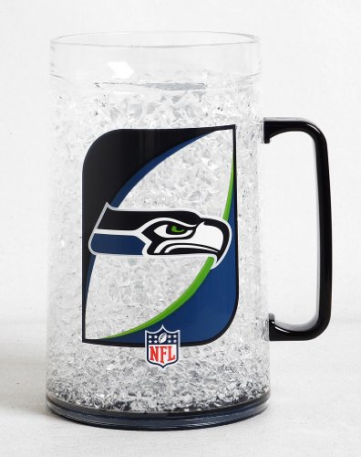 NFL Seattle Seahawks 38-Ounce Crystal Freezer Monster Mug at Amazon.com