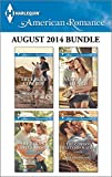 Harlequin American Romance August 2014 Bundle: True Blue Cowboy\The Texans Little Secret\A Cowboys Heart\The Cowboy Meets His Match