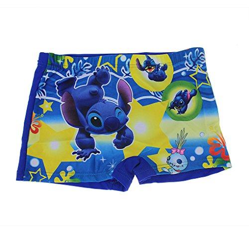 Kids Little Boys Cute Cartoon Bathing Swimming Beach Shorts Pants Swim Boxer Underwear Trunks Boardshorts Swimwear with Adjustable Waist Band for Children Suit Age 2-9 Years