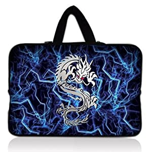 """Dragon 15.6"""" 15"""" 15.4"""" inches Laptop Bag Case Notebook Carrying Sleeve Cover Pouch with Hidden Handle for Lenovo Idealpad Thinkpad /Dell Inspiron 1545 15 15r /Dell XPS 15z Alienware M15x /Apple Macbook Pro/ 15.5"""" Sony Vaio E Series/15.6"""" Hp Pavilion/asus/acer Aspire/SAMSUNG Computer"""