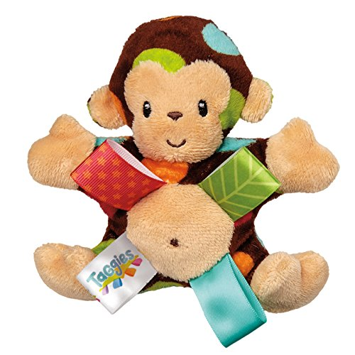 Mary Meyer Taggies Dazzle Dots Rattle, Monkey
