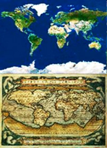 Educa  13296  Puzzle Adulte 2X1000 pièces  Mappemonde ~ Puzzle Bois Adulte