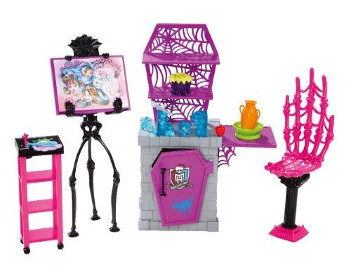 Monster High Atelier d'Arts Plastiques (infierno Accesorios)