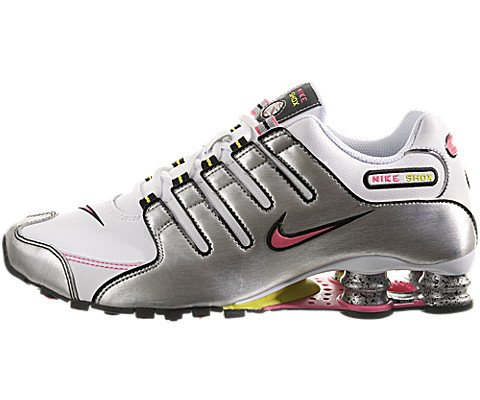 9cb957916b260 Nike Women s Shox NZ SL Running Shoes White Pink Flash 7 5 M US ...